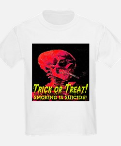 Trick or Treat Smoking Is Sui Kids T-Shirt