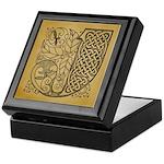 Celtic Letter J Keepsake Box