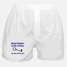 Under Lock & Key Boxer Shorts