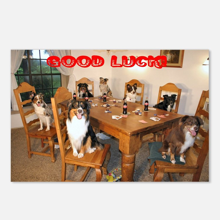 Good Luck Postcards (Package of 8)