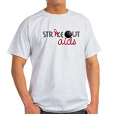 Strike Out Aids T-Shirt