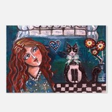 Love My Cat Postcards (Package of 8)