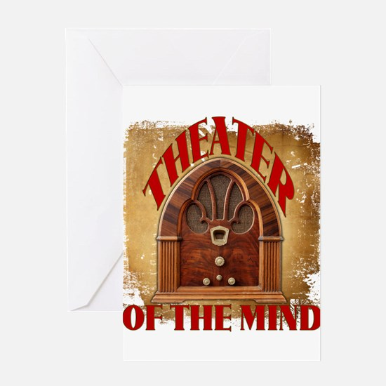 Theater Of The Mind Greeting Cards