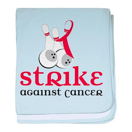 Strike Against Cancer baby blanket