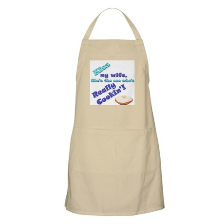 Kiss my Wife BBQ Apron
