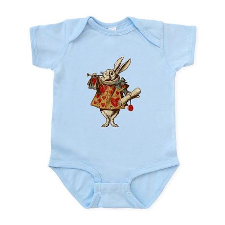 Alice White Rabbit Vintage Infant Bodysuit