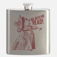 Red Queen Off With Her Head Flask