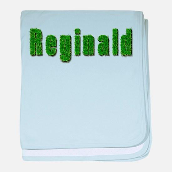 Reginald Grass baby blanket