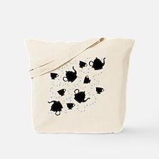 Tumbling Tea Party Tote Bag