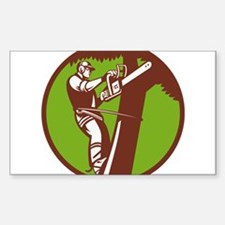 Arborist Tree Surgeon Trimmer Pruner Decal