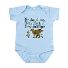 Alice Gryphon Explanations Infant Bodysuit