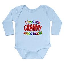 I love my GRANNY soooo much! Long Sleeve Infant Bo