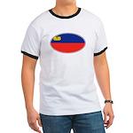 Liechtenstein Flag Ringer T