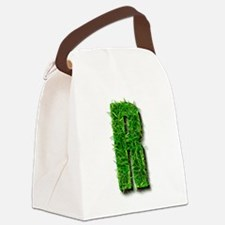 R Grass Canvas Lunch Bag