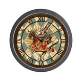 Alice and wonderland Wall Clocks