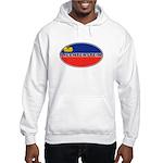 Liechtenstein Flag Hooded Sweatshirt