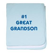 #1 Great Grandson baby blanket