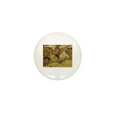 Aublysodon Dinosaur Mini Button (10 pack)