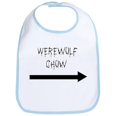 Werewolf Chow Bib