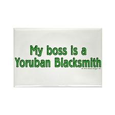 Yoruban Blacksmith Rectangle Magnet