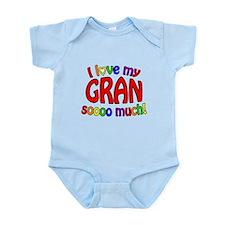 I love my GRAN soooo much! Infant Bodysuit