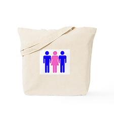 Threesome (MFM) Tote Bag