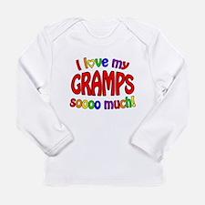 I_love_gramps.png Long Sleeve Infant T-Shirt