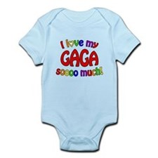 I love my GAGA soooo much! Infant Bodysuit