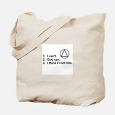 First Three Steps Tote Bag