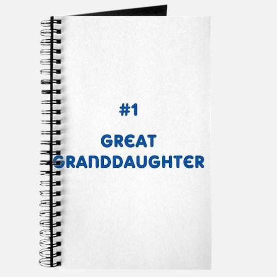 #1 Great Granddaughter Journal