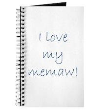 I love my memaw Journal