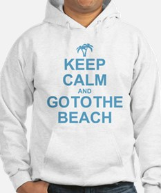 Keep Calm Go To The Beach Hoodie