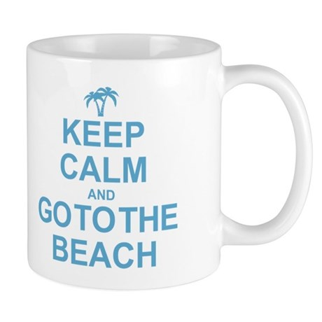 Keep Calm Go To The Beach Mug