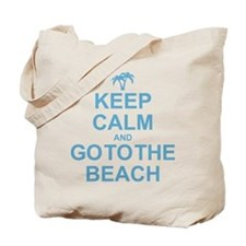 Keep Calm Go To The Beach Tote Bag