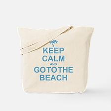 Keep Calm Go To The Beach Tote Bag
