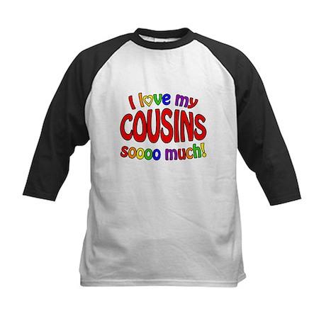 I love my COUSINS soooo much! Kids Baseball Jersey