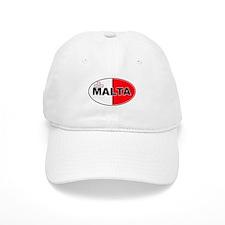 Maltese Oval Flag Baseball Baseball Cap