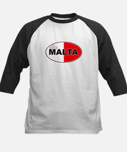 Maltese Oval Flag Tee