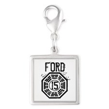 Ford - 15 - LOST Silver Square Charm