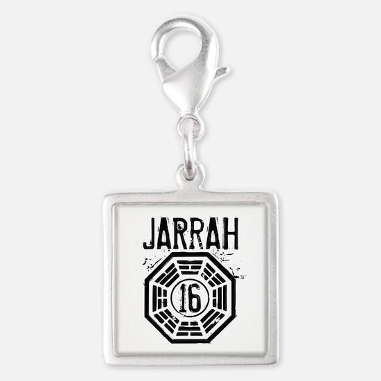 Jarrah 16 - LOST Silver Square Charm