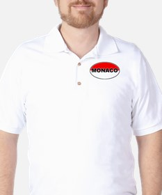 Monaco Oval Flag T-Shirt