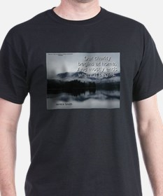 Our Charity Begins At Home - Horace Smith T-Shirt
