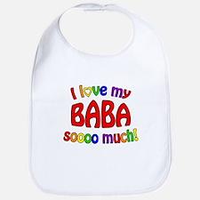 I love my BABA soooo much! Bib