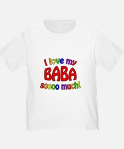 I love my BABA soooo much! T