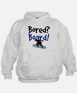 Unique Snow board Hoodie