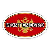 Montenegro Stickers