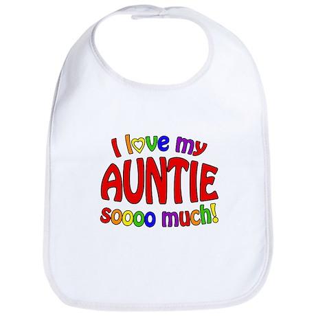 I love my AUNTIE soooo much! Bib