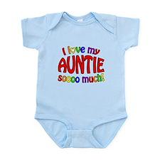 I love my AUNTIE soooo much! Infant Bodysuit
