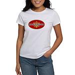 Montenegro Oval Flag Women's T-Shirt