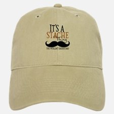 It's A Stache Thing Baseball Baseball Cap